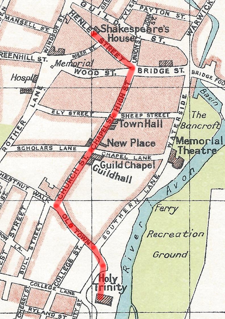 Historic Spine Stratford